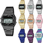 Sport Metal Band Watch Metal Case Crystal Cut LCD Display Men Women Wristwatch  image