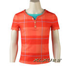 Wreck-It Ralph 2 Cosplay Costume Ralph T-shirt Halloween Customize Wreck-It Ralp