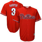Bryce Harper Philadelphia Phillies Majestic MLB Authentic Mens Jersey Cool Base