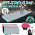 Airtrack Air Track Floor Home Inflatable Gymnastics Tumbling Mat GYM + Air Pump