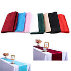 Polyester Smooth Linen Tablecloth Dining Tabletop Cover Home Table Flag Decor