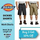 Kyпить DICKIES MEN'S WORK SHORTS 13 INCH LOOSE FIT MULTI TECH POCKET UNIFORM #42283 на еВаy.соm