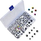 1221 Pieces Wiggle Googly Eyes Self Adhesive Wiggle Eyes (Assorted Sizes) Craft
