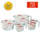 Pyrex 4-Piece Glass Measuring Cup Set with Large 8