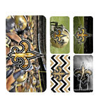 wallet case new orleans saints iphone 7 iphone 6 6+ 5 7 X XR XS MAX case $15.99 USD on eBay
