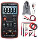 RM408B Digital Multimeter Button 8000 Counts True-RMS Frequency Voltage Current