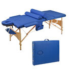 Foldable Portable SPA Massage Bed Table Facial Beauty Tattoo Carry Case