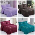 3PCS Lightweight Quilt Bedspread Set Microfiber Embroidery Coverlet, Lapaz image