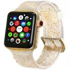 Glitter Bling Watch Band Strap + Protector Cover for Apple Watch iWatch 38/42mm