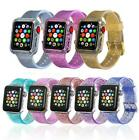Glitter Silicone Wrist Bracelet Band Strap Protector Case for Apple Watch38/42mm image