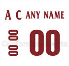 Arizona Coyotes 2014-15 Away Jersey Customized Number Kit un-stitched $29.99 USD on eBay