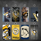 wallet case Pittsburgh Penguins galaxy note 9 note 3 4 5 8 J3 J7 2017 2018 $17.99 USD on eBay