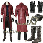 DMC Devil May Cry 5 Dante Cosplay Costume with Boots Halloween Customize Clothes