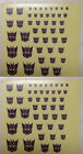 decals energy cubes for megatron optimus free shipping combined with other links