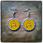 Star Trek Bottle Cap Earrings *Next Generation & Original* on eBay