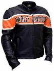 Men's Classic Black Harley HD Victory Lane Motorcycle Faux Leather $85.0 USD on eBay