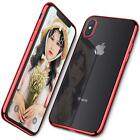 For iPhone Xr Case TPU With GLASS TEMPERED SCREEN PROTECTORS [3-PACK]