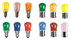 Bell 15w Coloured Pygmy Light Bulb/Lamps in: Pink Blue Yellow Amber Green Red