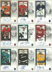 2013 14 Panini Contenders Rookie Ticket Autograph Rookie Card Pick From List