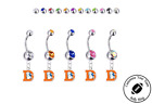 Denver Broncos Retro Silver Belly Button Navel Ring - Customize Gem Color - NEW $14.99 USD on eBay