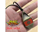 Digimon Adventure Courage/Friendship/Love Badge Magnetic Pendant Necklace Rope