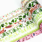 10m Decor Washi Tape Leaves Set DIY Planner Masking Tapes School Office Supplies