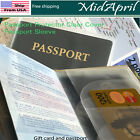 Внешний вид - Passport Protector Cover Vinyl, RFID sturdy Holder Passport Sleeve  US