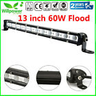 7-38inch Single Row Slim LED Work Light Bar for Car Off Road Truck SUV UTE JEEP