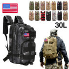30l Outdoor Shoulder Military Tactical Backpack Travel Camping Hiking Trekk Bag