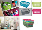 Plastic Handy Baskets Fruit,Vegetables,Pharmacy,Toy,Tool Tidy Storage Organizers