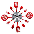 Home Cutlery Kitchen Spoon Fork Decorative Wall Clock