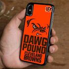 CLEVELAND BROWNS LOGO iPhone 6/6S 7 8 Plus X/XS Max XR Case Cover $15.9 USD on eBay