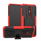 For Nokia 3.1/7.1/8.1 Case Shockproof Armor Hybrid Kickstand Protective Cover