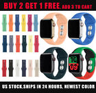 Fitness Silicone Sport Band iWatch Strap For Apple Watch Series 4/3/2/1 40 44mm image