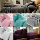 Teddy Fleece Luxury Duvet Covers Cosy Warm Soft Bedding Sets and Pillow Cases image