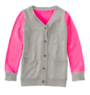 NWT GYMBOREE GIRLS SIZE 5-6 10-12 FAIRYTALE FOREST CLOR BLOCK CARDIGAN SWEATER
