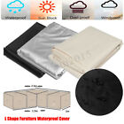 2.5X1.5X1m Corner Garden Outdoor Sofa Patio Garden Furniture Cover Waterproof