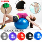 Yoga Ball w/ Air Pump Anti Burst Exercise Balance Workout Stability 65 75 85cm image