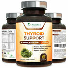 Thyroid Support Supplement with Iodine, Vitamin B12 Complex, Metabolism, Energy $21.92 USD on eBay