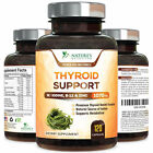 Thyroid Support Supplement 1070mg with Iodine, Vitamin B12, Metabolism, Energy $12.92 USD on eBay