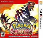 Pokemon Omega Ruby (Nintendo 3DS, 2014) [USA] [Pre-Owned]