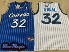 New Shaquille O'Neal Throwback Swingman Jersey STITCHED #32 Orlando Magic Mens