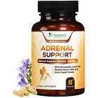 Adrenal Support Supplement 1300mg Natural Stress Relief & Cortisol Manager Pills $14.92 USD on eBay