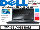 """Dell D620 160gb Fast Core 2 Duo 3gb Laptop Windows 7 14.1"""" Office Blue Pink Red"""
