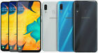 New & Sealed Unlocked Samsung Galaxy A30 Dual Sim Black Blue White Android Phone