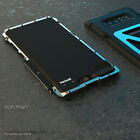 For Samsung Galaxy Note 10+ Plus R-JUST Shockproof Carbon Fiber Metal Case Cover