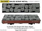 BALED SCRAP METAL, STEEL Load Fits Hornby OO Gauge OAA Model Railway Wagon