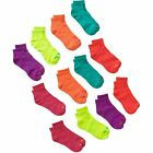 Avia Womens Performance Socks, Soft Comfort Stretch ankle socks, 12 Pairs