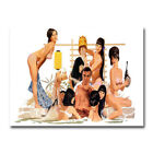 The James Bond 007 Hot Movie Art Canvas Posters Prints 8x11 20x27 inch $9.7 CAD on eBay