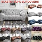1/2/3/4 Seaters Non-slip Elastic Couch Cover Universal Slipcovers Sofa Covers